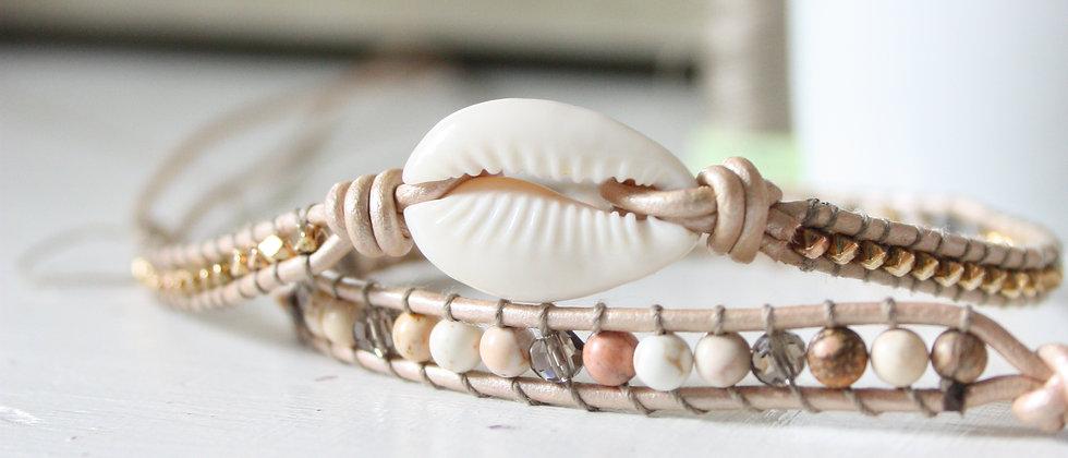 SHELL  - Bracelet Wrap