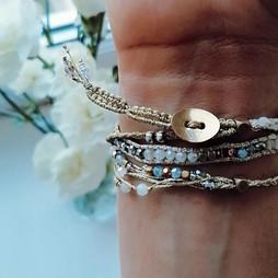 bracelet Wrap Vintage Moon Wild vegan collection sans cuir