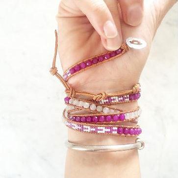 Comment mettre mon bracelet Wrap Vintage 2