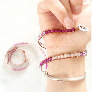 Comment mettre mon bracelet Wrap Vintage 1