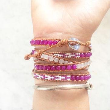 Comment mettre mon bracelet Wrap Vintage 3