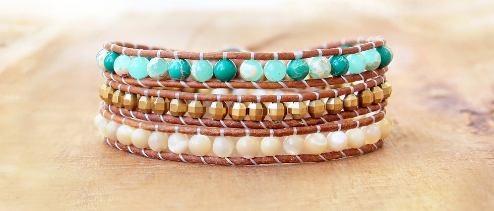 PALM BEACH - Bracelet Wrap