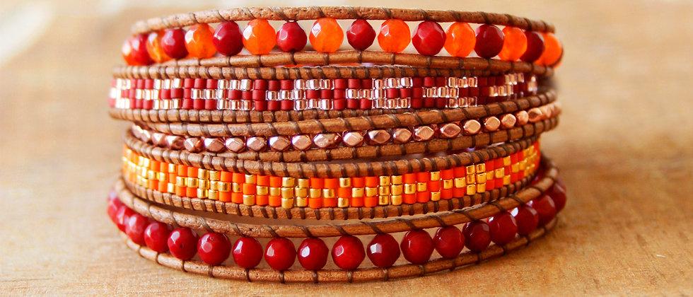 MAGDALENA - Bracelet Wrap - 40%