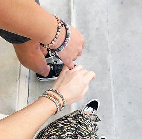 Bracelets Homme et Femme Wrap Vintage pierres naturelles