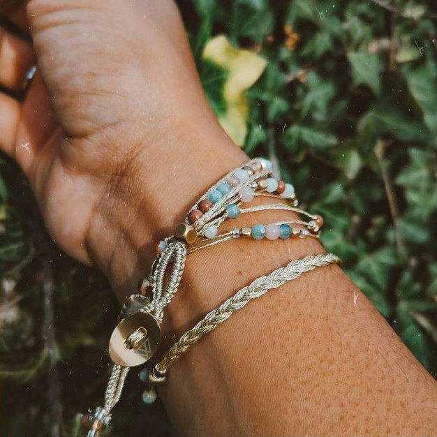 Bracelet Wrap Vintage North Wild pierre semi precieuse