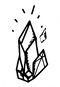 Logo illustration Pierres naturelles semi precieuses