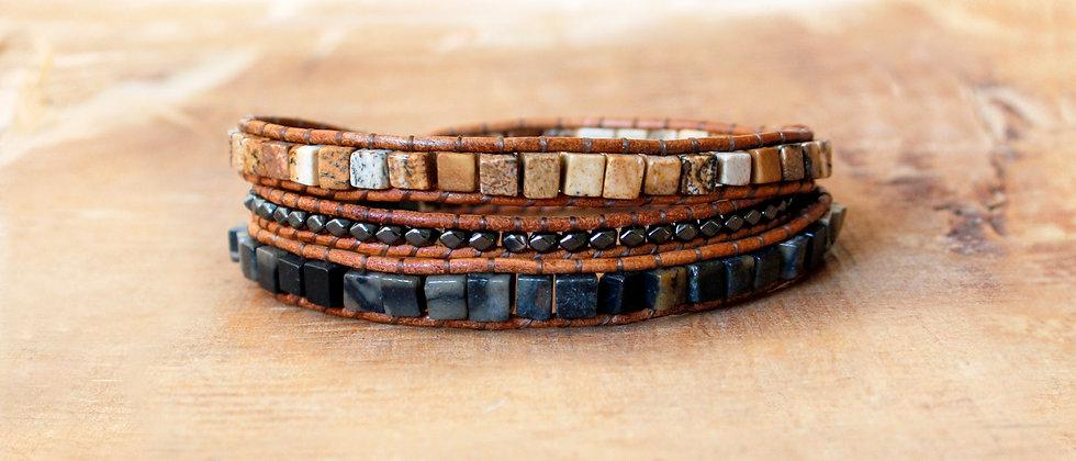 RAGNAR - Bracelet Wrap Homme