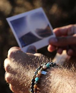 Bracelets Homme Wrap Vintage en pierres semi-précieuses naturelles