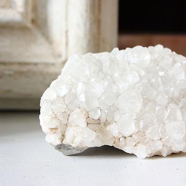 Pierre quartz blanc lithotherapie - Wrap Vintage