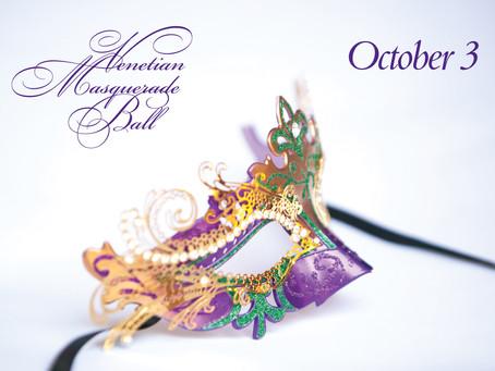 October 3, 2015 Venetian Masquerade Ball, Ross CA