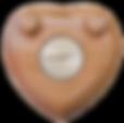 HeartFelt Keepsake®, wood, Cremation, Memorial Keepsake, Davis Whitehall®