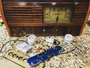 Vintage Radio Upcycle - Update