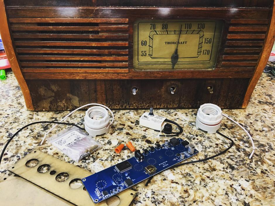 Vintage Radio Upcycle - Update