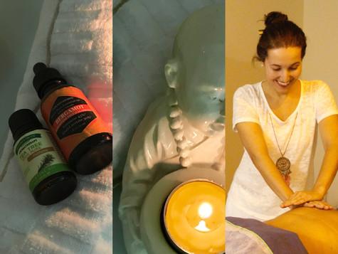 A Massagem e a Aromaterapia ajudam a fortalecer o sistema imunológico e promover a saúde.