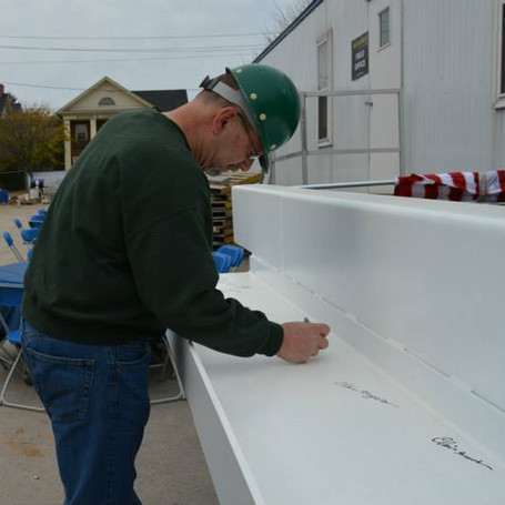 Signing of the Topping Off