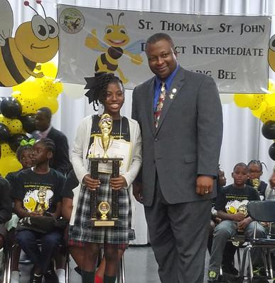 2019 St. Thomas/ St. John District Intermediate Spelling Bee