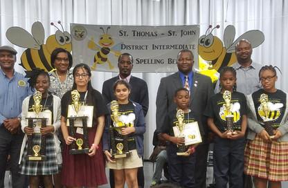 2019 St. Thomas/St. John District Intermediate Spelling Bee