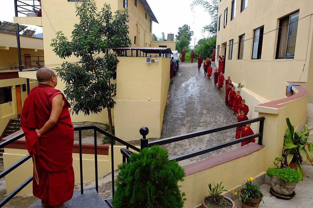 尼泊爾列些林高級佛學院