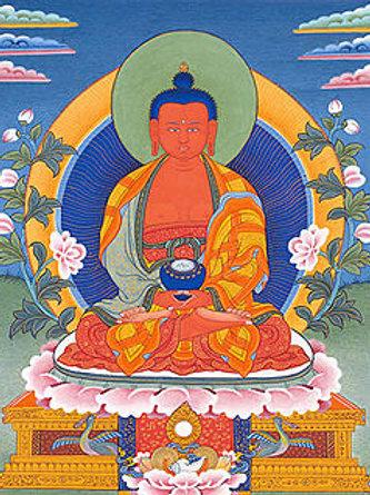 Amitabha small tangka