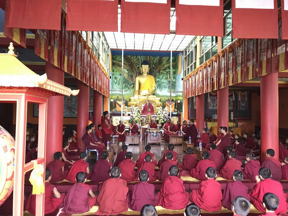 尼泊爾噶瑪列些林法會