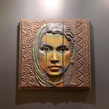 Kulit Kultura exhibits sculptures at TheBauHaus Gallery in Davao City