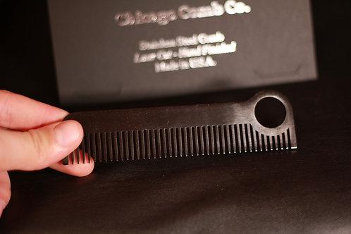 Расческа Chicago Comb Co.(Черный графит)
