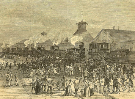 "The ""Great Strikes"" Begin: July 16, 1877"