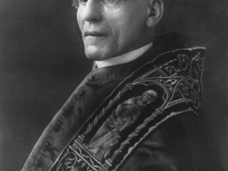 Pope Benedict Issues a Peace Plan: August 1, 1917