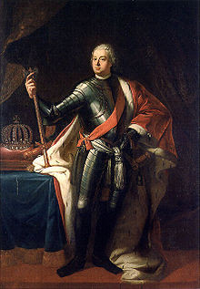 Prince Fritz and His Father Reconciled: August 15, 1731