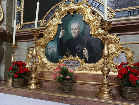 The Birth of One Who Loved the Wounds of Christ: January 3, 1694