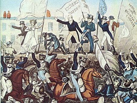 Massacre at Peterloo: August 16, 1819