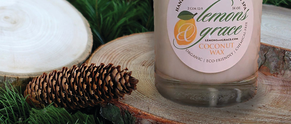 Balsam Cedar Scented Body Candle