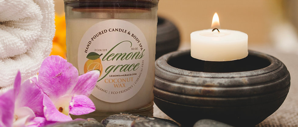 Spa Day Scented Body Candle