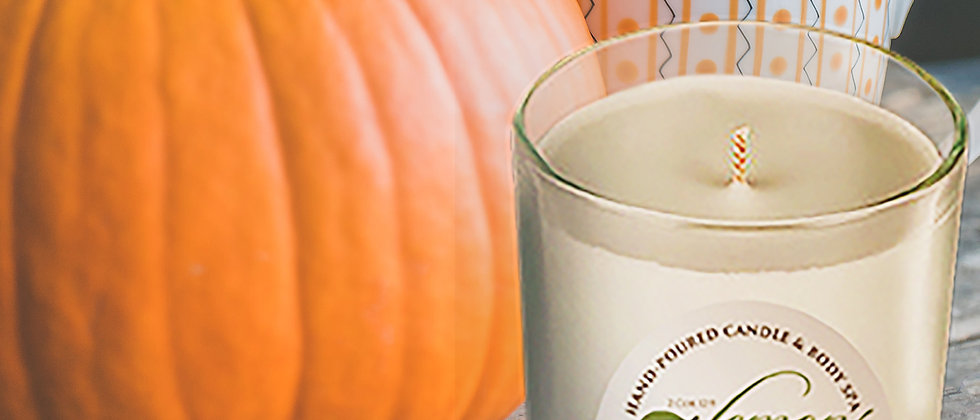 Caramel Pumpkin Swirl Scented Body Candle