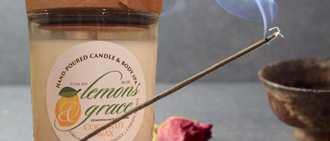 Nag Champa Scented Body Candle
