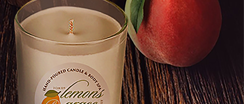 Peach Nectar Scented Body Candle