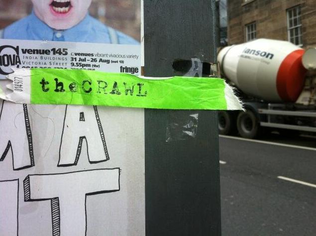 'The Crawl' Blot Theatre, 2013