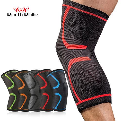 1 PC Elastic Knee Pads Nylon Sports Fitness Kneepad Fitness Gear Patella Brace