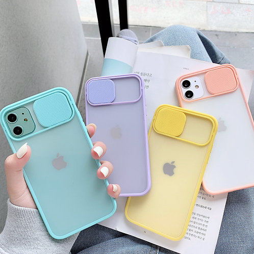 Camera Lens Protection Phone Case on for iPhones
