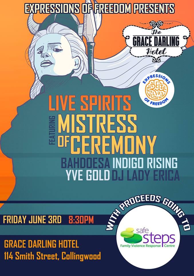 Live Spirits - 3rd June 2016