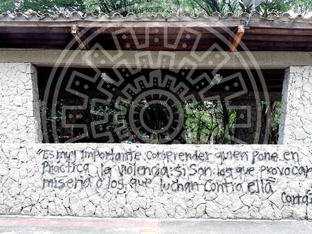 La violencia en Medellín narrada desde el grafiti.