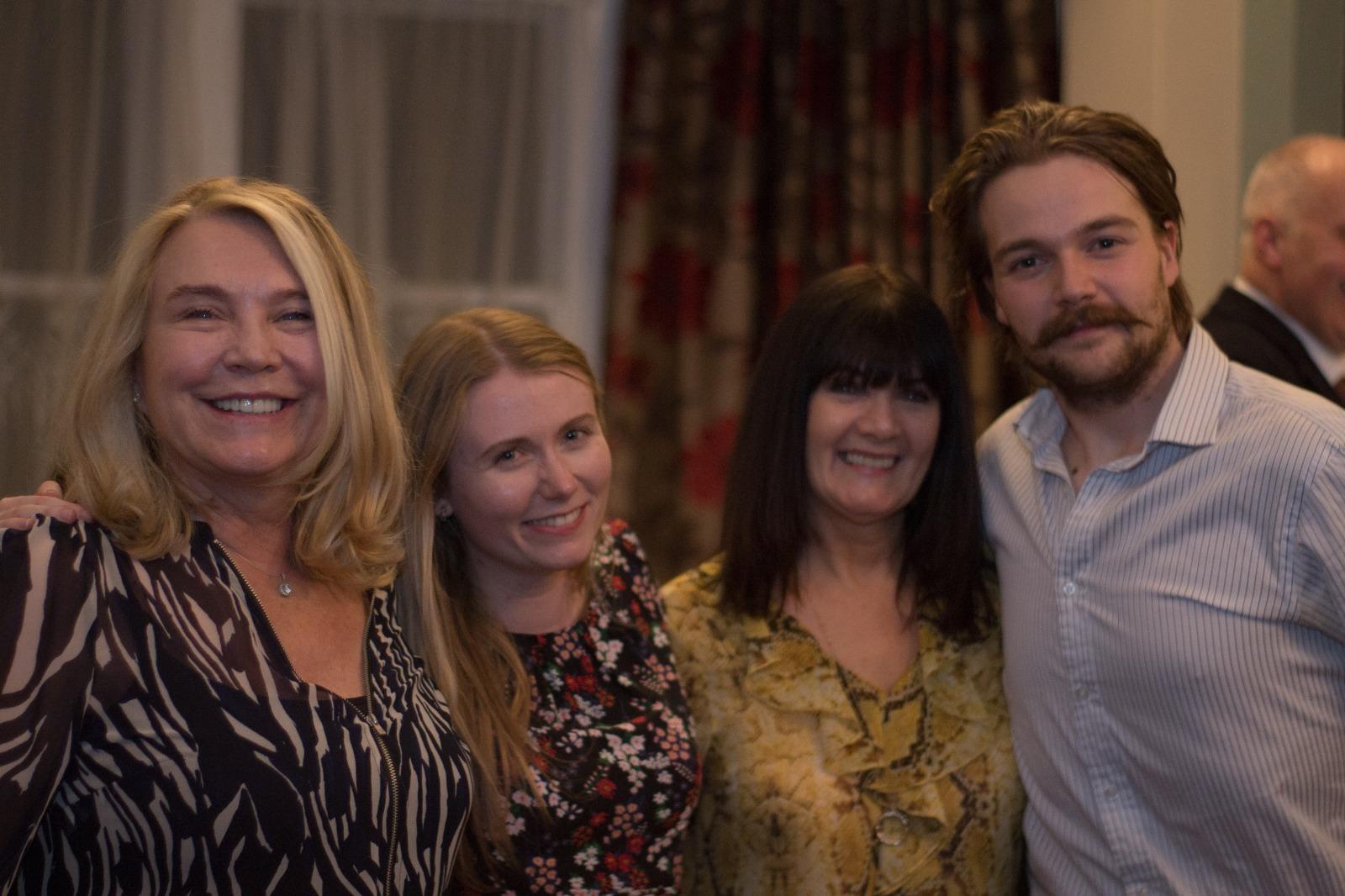 The ATS fundraising team