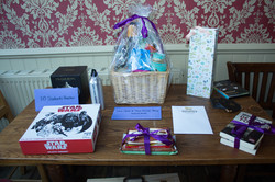 Our raffle prizes