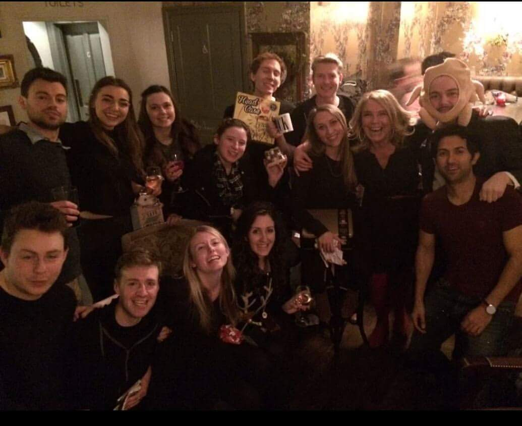 Class of 2017 Christmas drinks