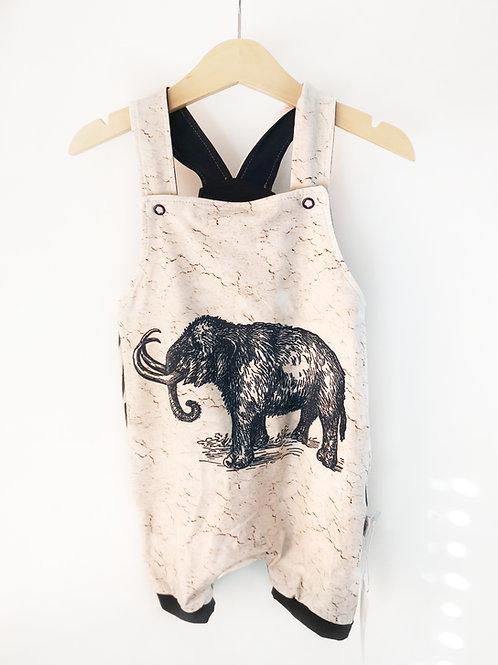Latzhose Bio Mammut - Gr.80/86