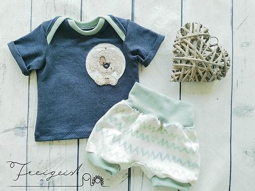 Sommer Baby-Set Hündchen - Gr.62