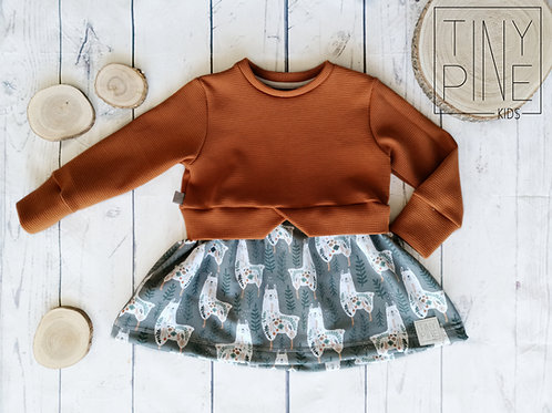 Girly Sweater Lama - Gr. 104