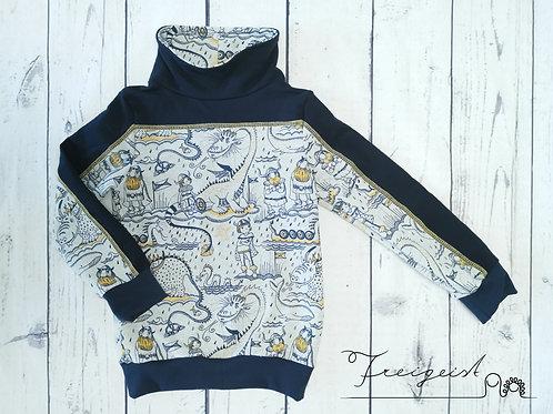 Sweater mit Kragen Wikinger - Gr.104