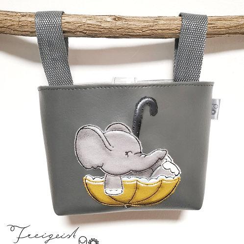 Lenkertasche Elefant im Schirm