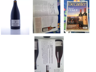 Decanter have named our very own Carignan, Domaine Sainte Croix in their top 31 Natural Wines